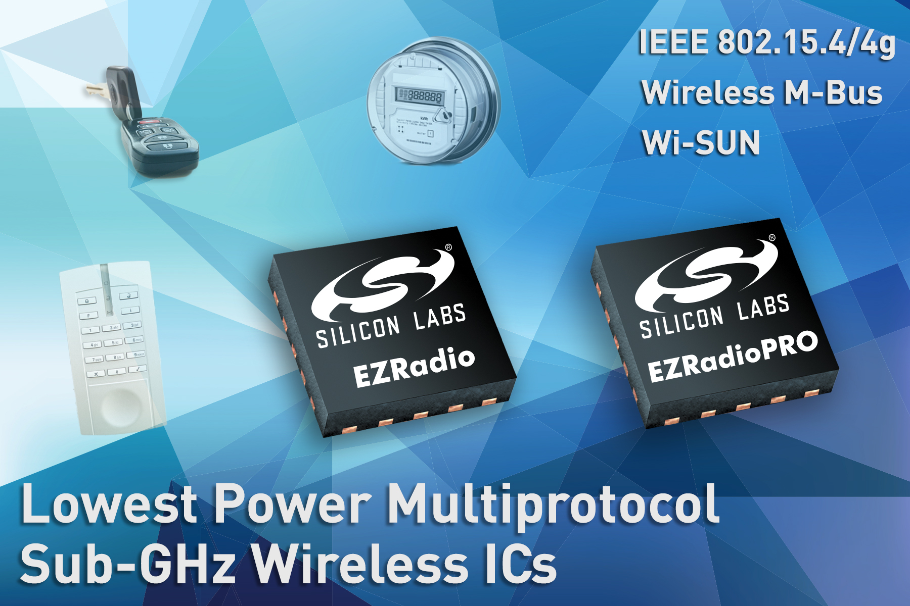 Silicon Labs Expands Sub-GHz Wireless Portfolio to Support 802.15.4 ...