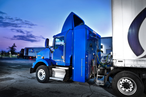 Trilogy is using Luxfer's new 26-inch-diameter G-Stor(R) Go Type 4 cylinders for its behind-the-cab CN