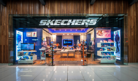 A new SKECHERS retail store that opened in Mexico in 2014 (Photo: Business Wire)