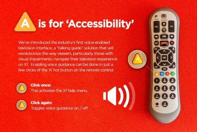 X1 Talks Comcast Launches Industry S First Voice Guided Tv Interface Business Wire
