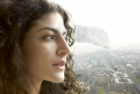 Clinical study from Olay leads the way in research about the impact of air pollution on our skin (Photo: Business Wire)