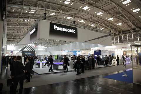 Panasonic Automotive & Industrial Systems Europe (PAISEU) exhibits for the first time, as a newly founded consolidated company at electronica 2014, held at the Messe Munich on November 11-14, 2014. (Photo: Business Wire)