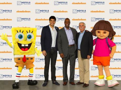 Karisma Hotels & Resorts Debuts Exclusive Nickelodeon Experiences at Azul Hotels (Photo: Business Wire)