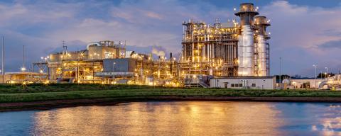 The 758 MW Panda Sherman Generating Station (Photo: Business Wire)