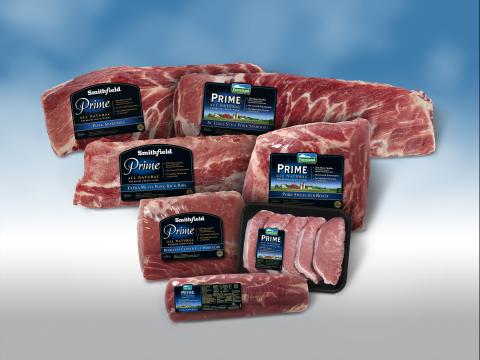 Smithfield Farmland Launches PRIME, a New Premium All Natural Fresh Pork Line (Photo: Business Wire)