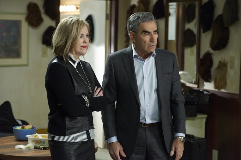 SCHITT'S CREEK-Premiering February 11, 2015 at 10:00 PM ET/PT on Pop-Catherine O'Hara and Eugene Levy (Photo: Business Wire)