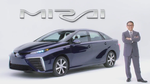 Toyota: The Future Has Arrived, and It's Called Mirai