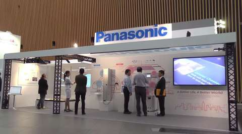 Introducing Panasonic's innovative technologies at IEC Tokyo (Photo: Business Wire)
