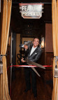 Dr. Grant Stevens cuts the ribbon to officially open Marina ManLand. (Photo: Business Wire)