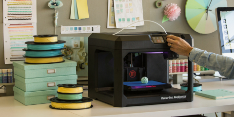MakerBot launches exclusive agreement with Martha Stewart Living Omnimedia to develop and market Martha Stewart for MakerBot Filament and Martha Stewart for MakerBot Digital Store collections. Three new filament colors and a Trellis Digital Store collection are available today at www.makerbot.com. (Photo: Business Wire)
