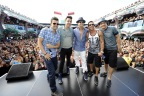ROCK THIS BOAT: NEW KIDS ON THE BLOCK-Premiering January 14, 2015 at 8:00 PM ET/PT on Pop- (Pictured from left to right: Jordan Knight, Jonathan Knight, Donnie Wahlberg, Danny Wood and Joey McIntyre)(Photo: Business Wire)