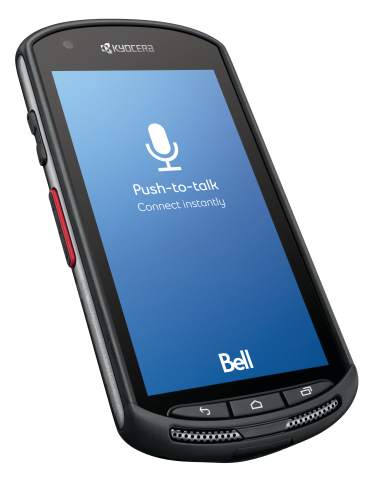 Bell Announces Exclusive Canadian Launch of Ultra-Rugged Kyocera Duraforce 4G Lte Android Smartphone (Photo: Business Wire)