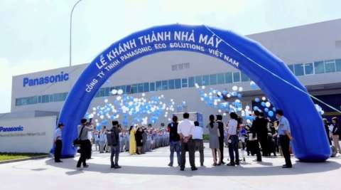 Grand Opening of Panasonic Eco Solutions Vietnam Co., Ltd. (Photo: Business Wire)