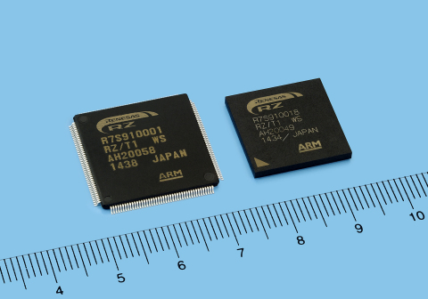 Renesas Electronics RZ/T1 Group of microprocessors, a new factory automation solution with built-in  ...