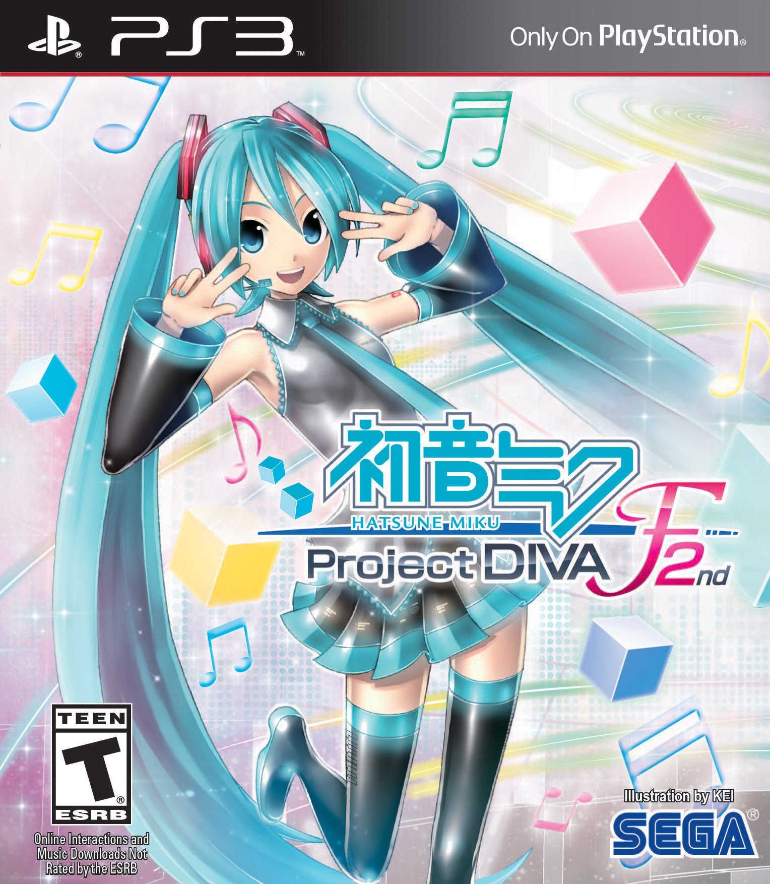Hatsune Miku Project DIVA F 2nd Available Now