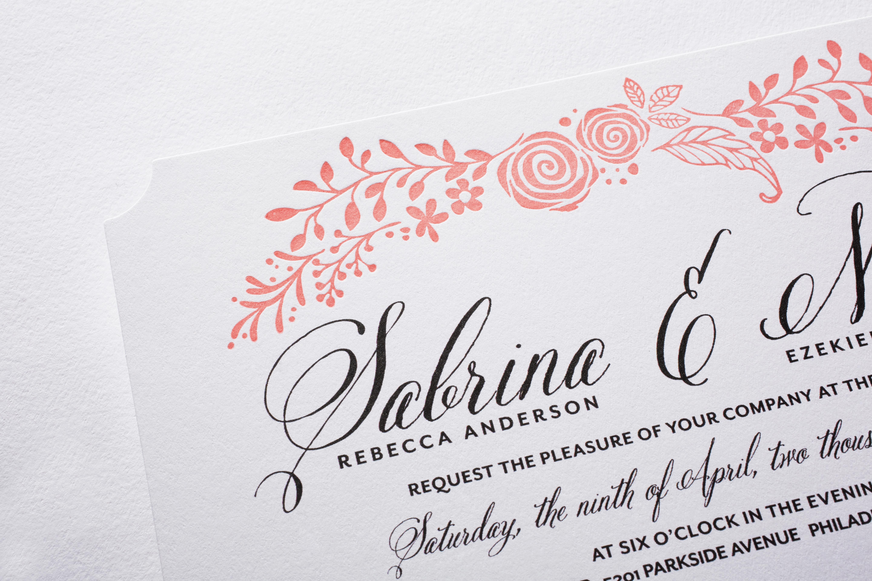 Wedding Paper Divas Debuts Premium Collection with New Letterpress
