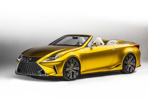 Lexus LF-C2 Concept Explores Design and Debuts at Los Angeles Auto Show (Photo: Business Wire)