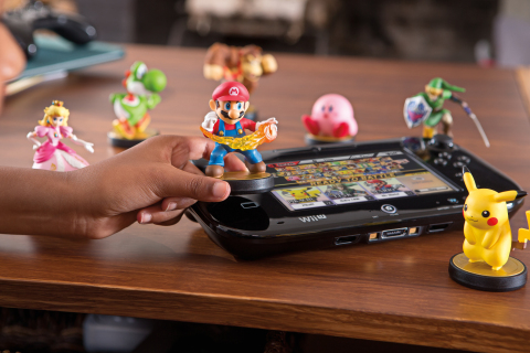 Super Smash Bros. for Wii U and the first round of amiibo figures, Nintendo's first foray into the t ...