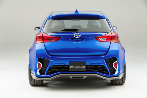 Scion premiered its iM Concept car at the Los Angeles Auto Show on Nov. 19, 2014. (Photo: Business Wire)