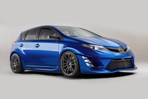 Scion estrenó su automóvil Concepto iM en el Los Angeles Auto Show el 19 de noviembre de 2014. (Foto: Business Wire)