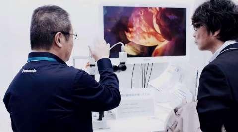 4K顕微鏡映像システム (写真:ビジネスワイヤ)