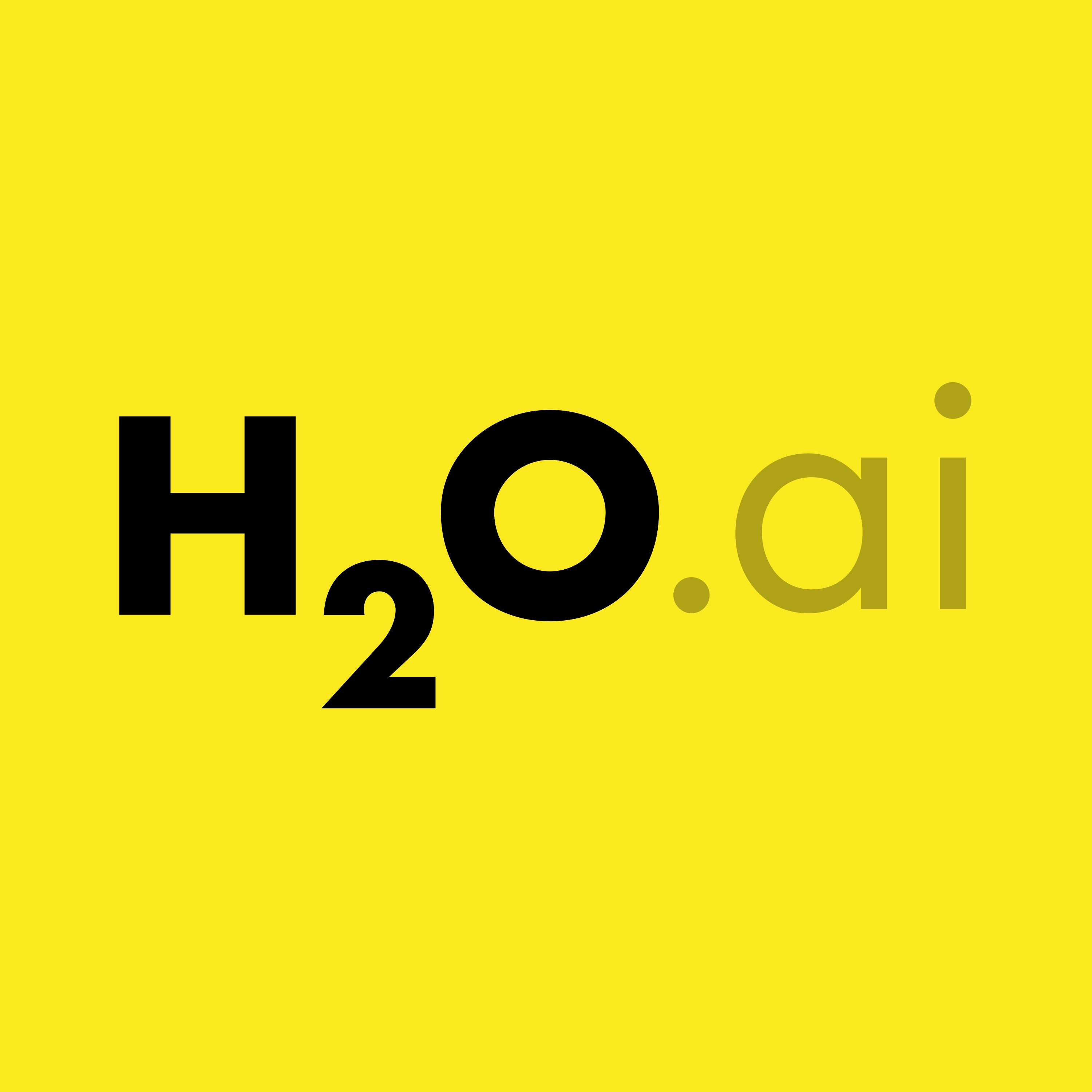 CORRECTING and REPLACING H2O ai Announces Availability of