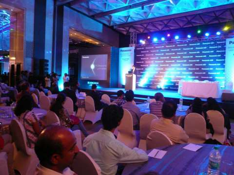 Anchor Electricals Pvt. Ltd. Unveils Professional LED Luminaires in India (Photo: press conference)