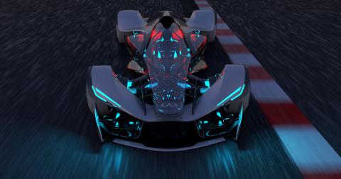 "Infiniti enters ""SYNAPTIQ"" in 11th Annual Los Angeles Auto Show Design Challenge (Photo: Business Wire)"
