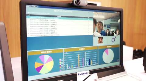 Panasonic's POS Workstation which is being exported to more than 60 countries around the world (Photo: Business Wire)