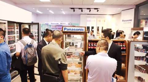 Panasonic introduced one-stop solutions for retail (Photo: Business Wire)