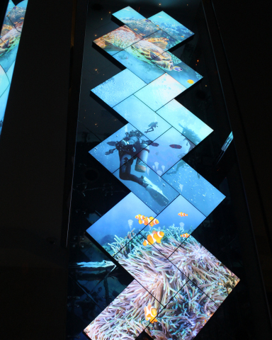 Planar Mosaic Video Wall (Photo: Business Wire)
