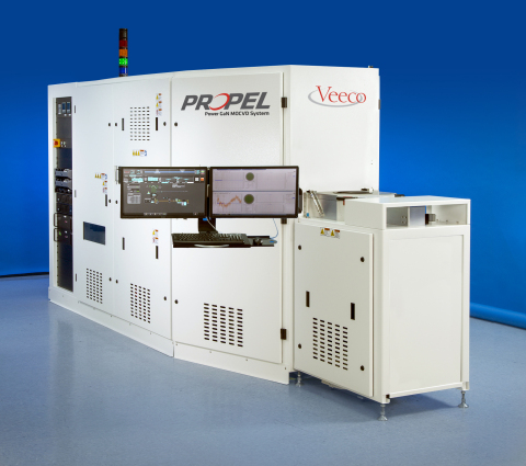 Veeco's new Propel Power GaN MOCVD system enables the development of highly-efficient GaN-based power electronic devices that will accelerate the industry's transition from R&D to high volume production. (Photo Credit: Business Wire)