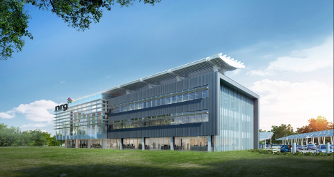 A rendering of NRG's new Princeton headquarters, expected to be completed in 2016. (Photo: Business  ...