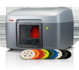 Now on Amazon.com, the Stratasys Mojo 3D Printer builds parts in nine colors. (Photo: Business Wire)
