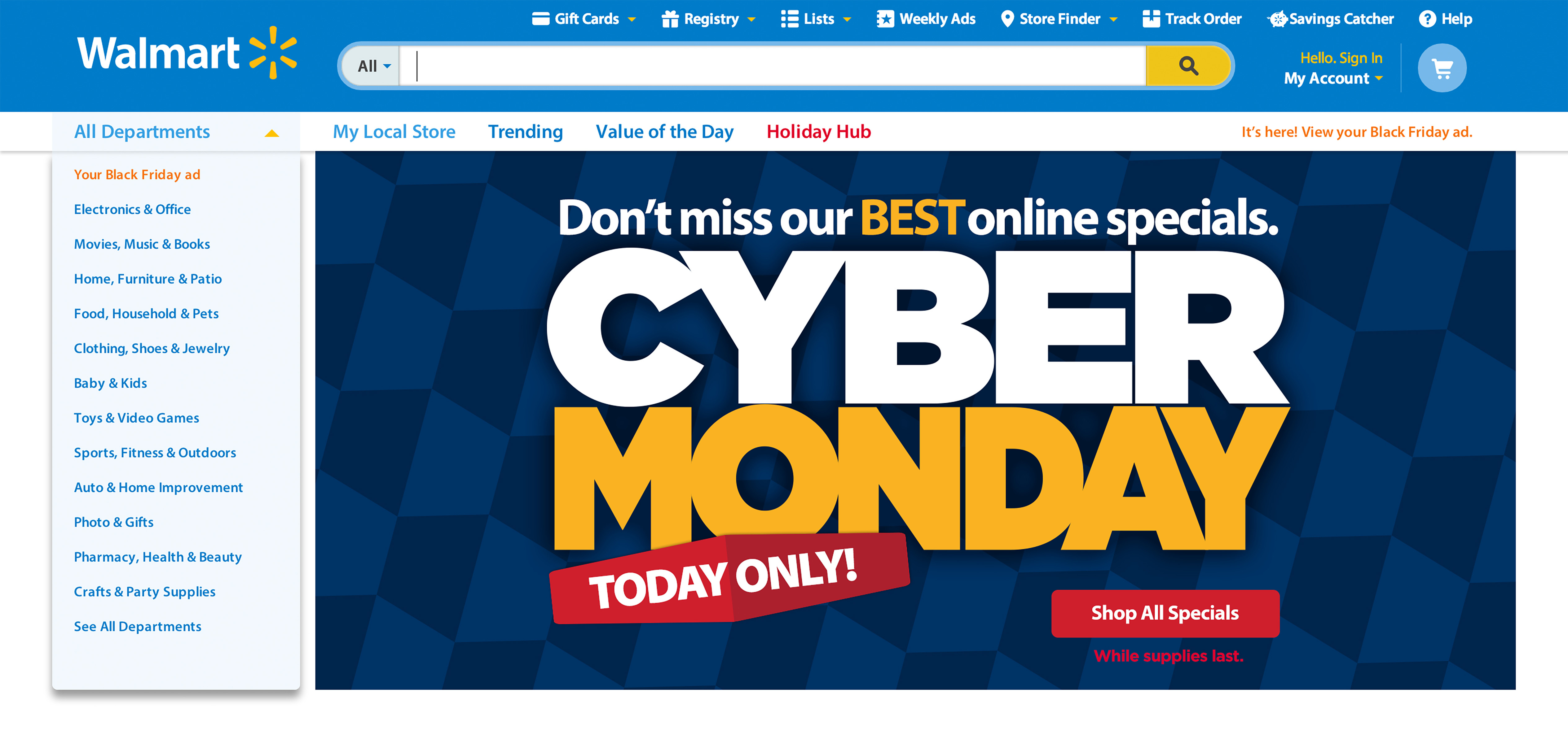 Walmart Doubles The Number Of Deals For Cyber Monday With Top Gifts Up To Half Off Business Wire
