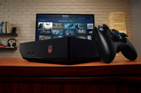 Prepare your living room for true next-gen experience with the Alienware Alpha gaming console (Photo ...