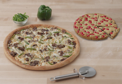 Papa John's Kicks off the Holiday Season with the NEW Philly Cheesesteak Pizza and the NEW Red Kettl ...
