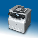 Compact and cost-efficient: The SP 3610SF. (Photo: Business Wire)