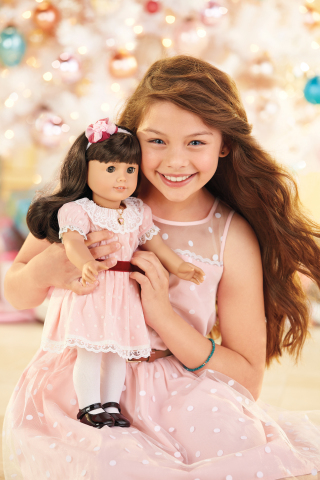 The Samantha doll from American Girl's BeForever line of historical dolls, books, and accessories. (Photo: Business Wire)