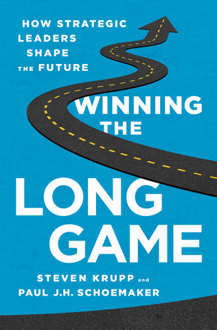 """""""Winning the Long Game: How Strategic Leaders Shape the Future"""" is being published by PublicAffairs and will be available for purchase on December 2, 2014. It is currently available for pre-order through Amazon, Barnes & Noble and IndieBound. (Graphic: Business Wire)"""