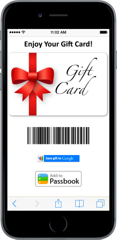 60% of consumers want to receive gift cards for the holidays, but many feel guilty asking for them (Photo: Business Wire)