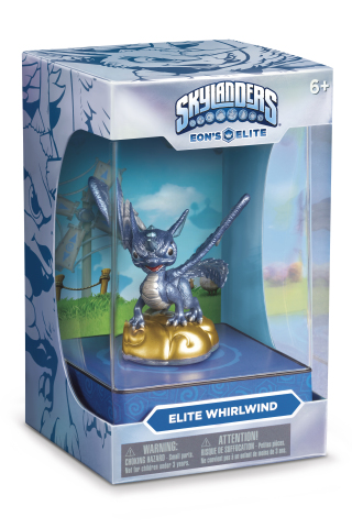 Skylanders® Trap Team Eon's Elite premium toy line debuts fourth character, fan-favorite Whirlwind, hitting store shelves December 6 (Photo: Business Wire)