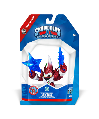 Holiday inspired Winterfest Lob-Star from Skylanders® Trap Team, hitting store shelves December 7 (Photo: Business Wire)