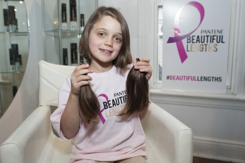 Pantene Beautiful Lengths, in partnership with the Canadian Cancer Society, celebrated National Donate Your Hair Day on Saturday, November 22  with hair cutting events encouraging Canadians to donate their hair to make wigs for women battling cancer. (Photo: Business Wire)
