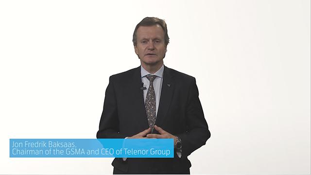 GSMA Chairman Jon Fredrik Baksaas