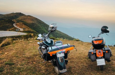 "What distances do Europe's motorcyclists cover on their bikes? Delticom's Two-wheel-team from MotorradreifenDirekt.de wanted to find out the answer to this and more with the ""Biker Summer 2014"" campaign. (Photo: Business Wire)"