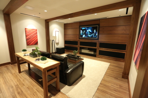 As part of Best Buy's $20 million overhaul earlier this year, there are now two new Magnolia Design Centers offering premium brands and options to design and install custom home theater experiences. (Photo: Aarjay Broton / Best Buy)