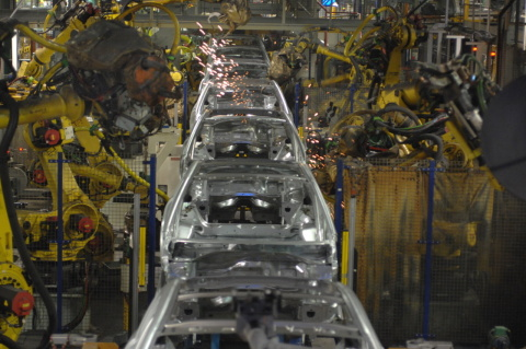 Production of the Peugeot 208 (Photo:Business Wire)