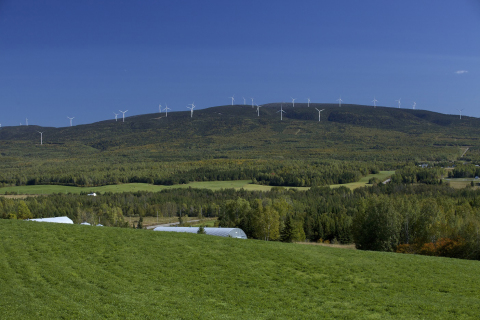 La Mitis Wind Project in Quebec. (Photo: Business Wire)