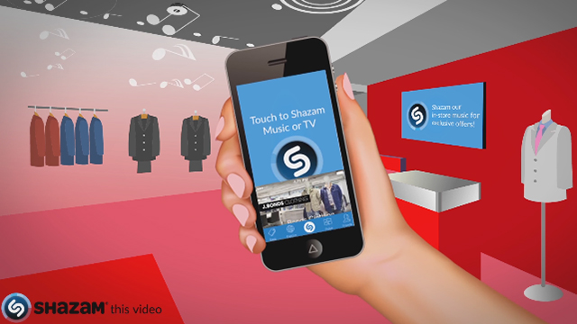 Shazam In-Store powered by Mood